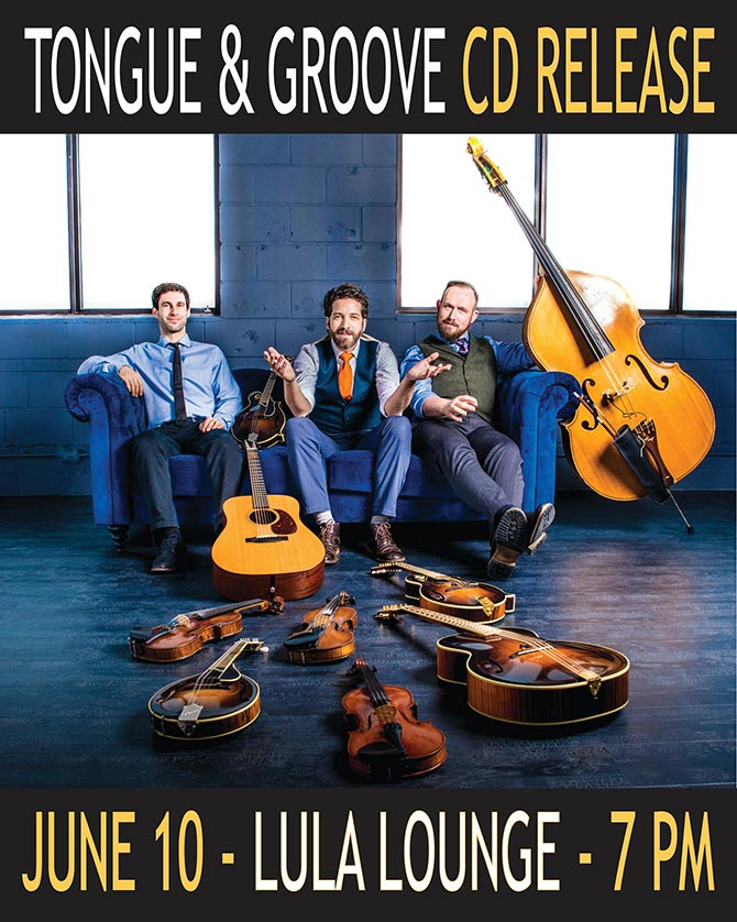 Andrew Collins Trio Releases Tongue & Groove