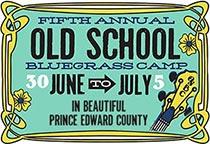 Old School Bluegrass Camp