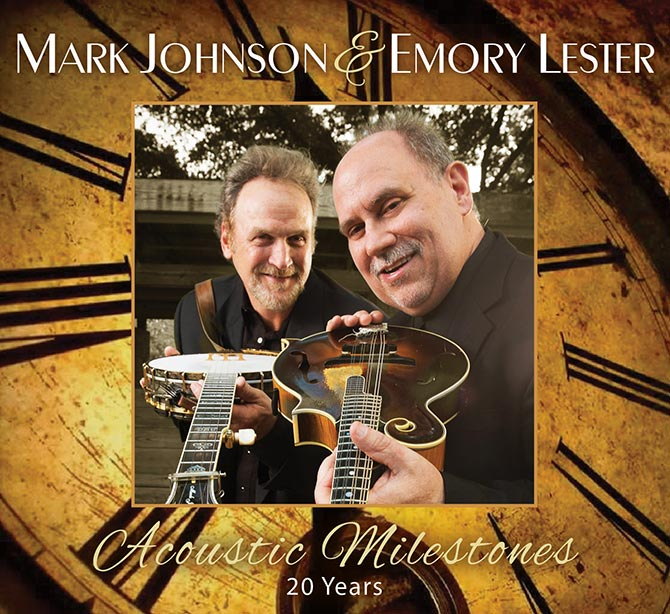 ark Johnson and Emory Lester - Acoustic Milestones - 20 Years