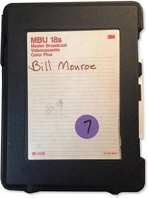 Scott Wright tape #7 - Bill Monroe receives his mandolin from Gibson, February 25, 1986