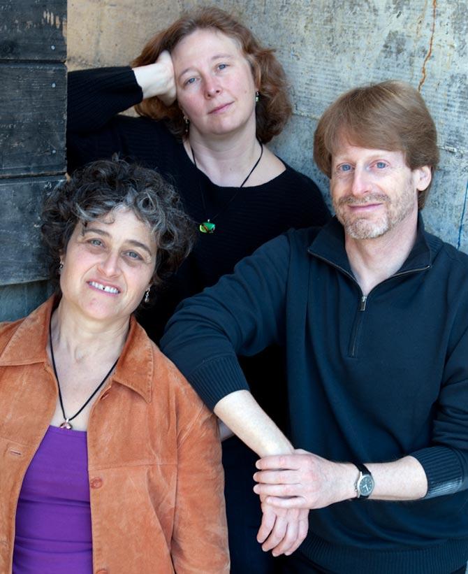 Marla Fibish with Erin Shrader and Richard Mandel