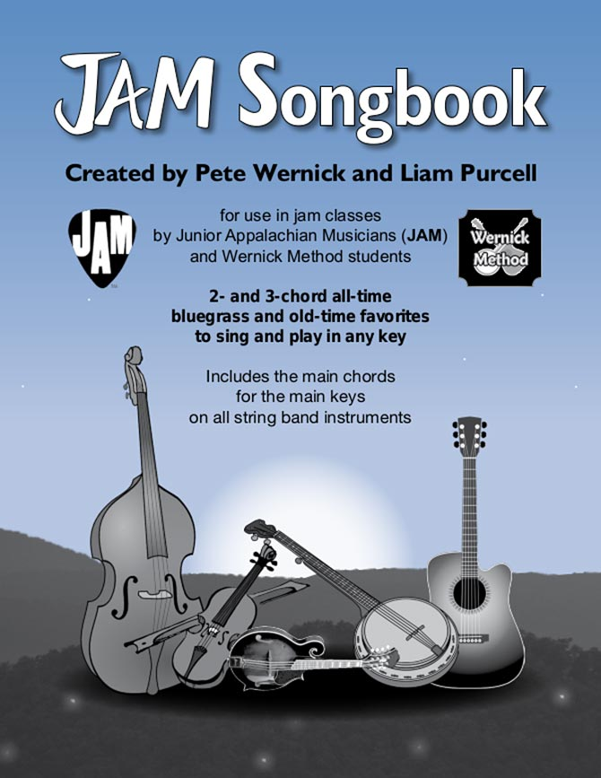 JAM Songbook by Pete Wernick and Liam Purcell