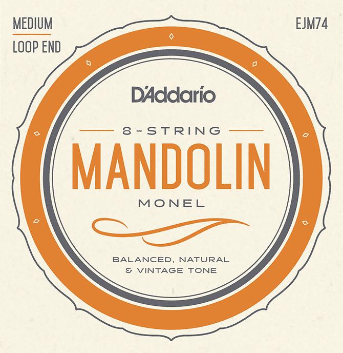 D'Addario Announces Launch of Monel Mandolin String Sets
