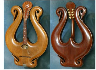 Gibson Lyre mandolin - photo courtesy of Gruhn Guitars
