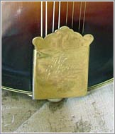 Standard Gibson style tailpiece