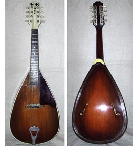 ViviTone acoustic mandolin - image courtesy of Kennard Machol