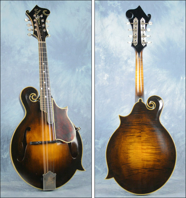 Chris Thile's Lloyd Loar Mandolin No. 75316, February 18, 1924