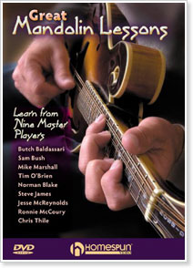 Great Mandolin Lessons - Learn From Nine Master Players
