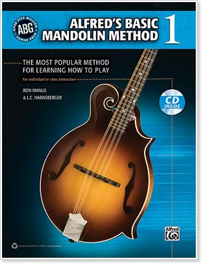 Alfred's Basic Mandolin Method 1 - Ron Manus & L. C. Harnsberger