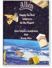 Randy Allen Tailpiece Installlation DVD