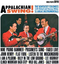 <i>Appalachian Swing</i> - The Kentucky Colonels instrumental recording from 1964. Click to enlarge.
