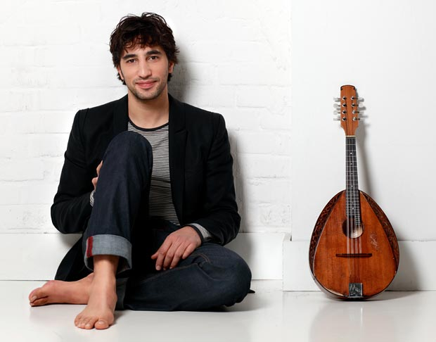Deutsche Grammophon recording artist Avi Avital. Photo credit: Uwe Arens