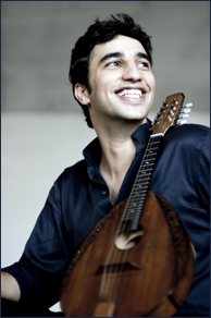 Classical Grammy Nominee Avi Avital. Photo credit: publicity photo from aviavital.com.
