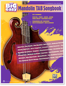 The Big Easy Mandolin TAB Songbook