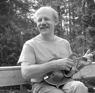 Bill Halsey, luthier and violin bow maker.