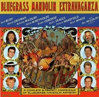 Bluegrass Mandolin Extravaganza, produced by David Grisman's Acoustic Disc label, 1999. Click to purchase from ronniemccoury.com.