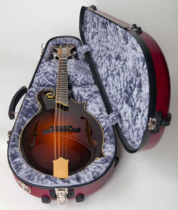 Calton Case with F Mandolin