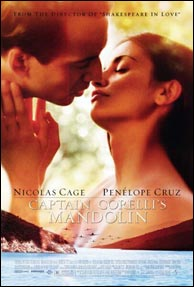 The movie Captain Corelli's Mandolin (2001)