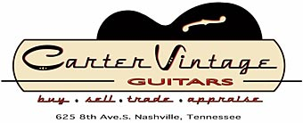 Carter Vintage Guitars of Nashville, Tennessee