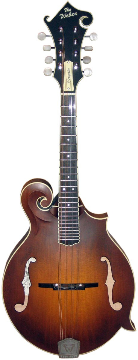 """The """"Coyote"""" Mandolin From Weber and The Mandolin Store"""