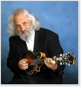 Acoustic Disc recording artist David Grisman, celebrating his 70th birthday, March 23, 2015.