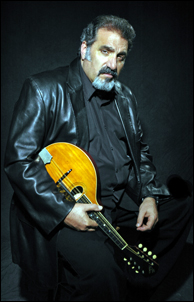 Award winning blues mandolinist Rich DelGrosso