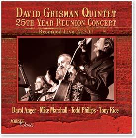 David Grisman Quintet 25th Anniversary Concert