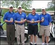 Doyle Lawson and friends at the 2006 Doyle Lawson Golf Scramble.