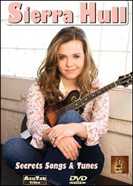 Sierra Hull's Secret Songs and Tunes instruction DVD from AcuTab