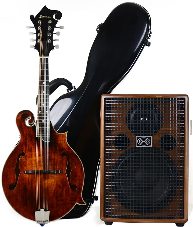 Eastman MD515 Mandolin with Schertler Products Giveaway