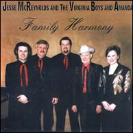 Jesse McReynolds and the Virginia Boys and Amanda, 2009. Click to purchase.