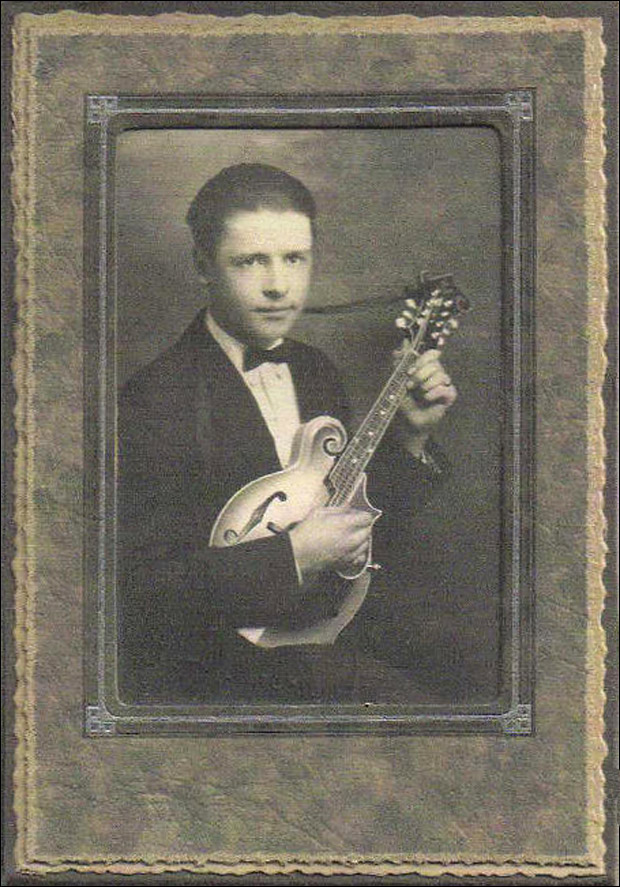 Virgil Bisagno - Original owner - Lloyd Loar Mandolin No. 75316, February 18, 1924