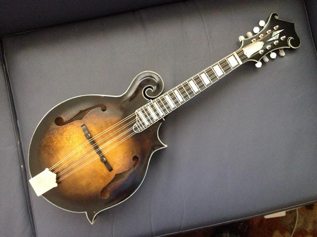 Frank Solivan's Self-Built Mandolin