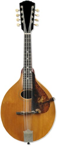 Early Gibson A model that sold for $650 on Skinner Auctions recently.