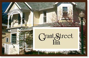 Grant Street Inn, Bloomington, IN - home of the 2014 Jim Richter Mandolin Camp for the Rest of Us