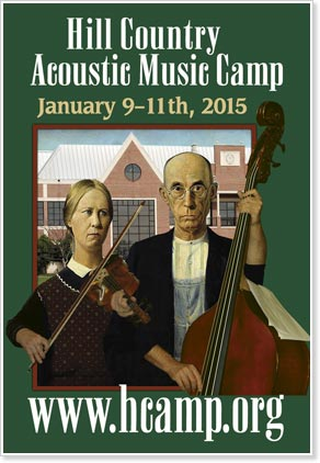 Hill Country Winter Acoustic Music Weekend, January 9-11, 2015, Kerrville, Texas