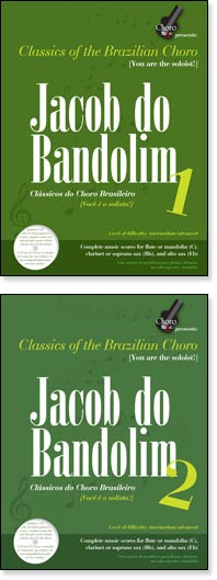 Classics of the Brazilian Mandolin - Jacob do Bandolim, Parts 1 & 2