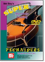 Super Mandolin Picking Techniques DVD - by Joe Carr