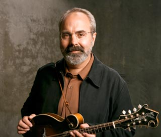 John Reischman leads an all-star mandolin instruction staff at the 2015 Walker Creek Bluegrass and Old-TIme Music Camp in West Marin County, Calif., October 8-11, 2015.