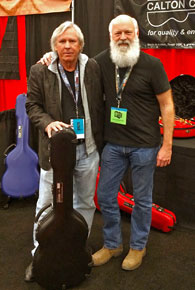 L-R James Williamson with Jon Green at 2014 SXSW.