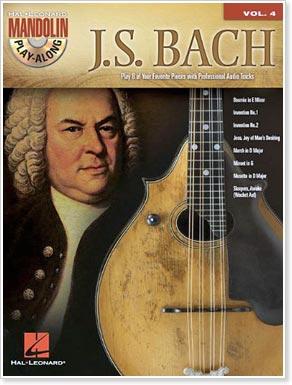 J.S. Bach: Mandolin Play-Along Volume 4