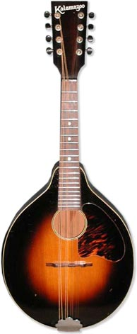 Kalamazoo KM-11 mandolin. Typical price range $400-700.