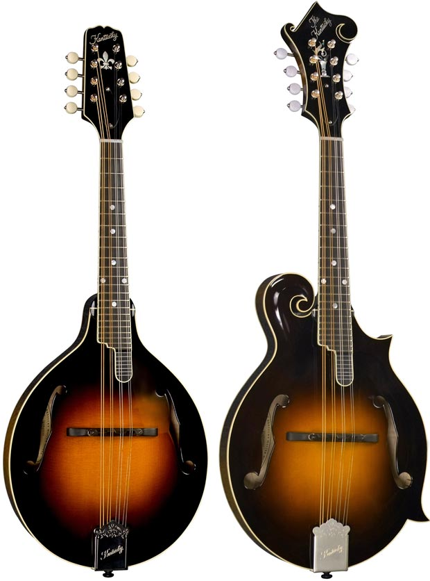 Introducing The KM 950 And 1050 Kentucky Mandolins