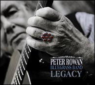 Legacy, Jody Stecher's latest project as mandolin player in the Peter Rowan Bluegrass Band. Click to enlarge.