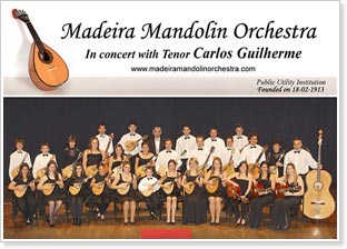 2009 Madeira Mandolin Orchestra UK Tour