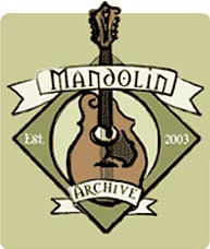 Mandolin Archive, launched October 15, 2003