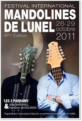 2011 Festival Mandolines de Lunel - The Two Godfathers' Edition