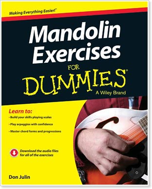 Mandolin Exercises For Dummies by Don Julin - from Wiley Publishing