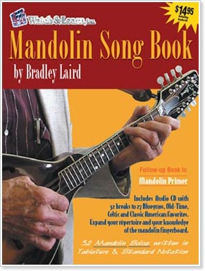 The Mandolin Song Book by Brad Laird