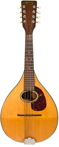 Martin mandolin, circa 1963. Photo credit: Mass Street Music. Approximate price, $800.